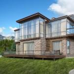 Развитие современного строительства загородных домов