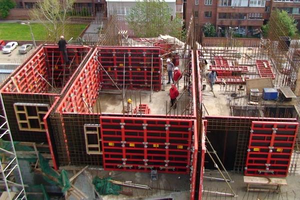 Предназначение опалубки в строительных работах