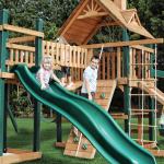 Детские городки от VISTMASTER: ярко, стильно, многофункционально