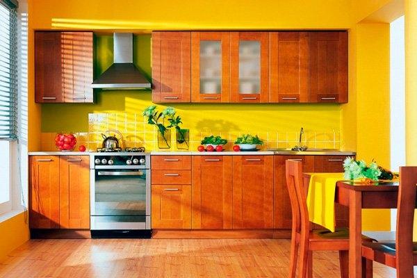Стандартные кухонные шкафы: нюансы подбора