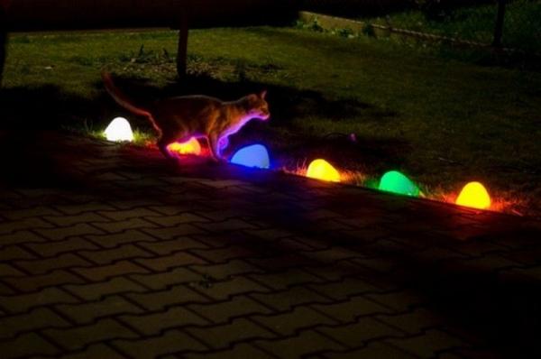 Вариации на тему: «Светящиеся камни для ландшафтного дизайна»
