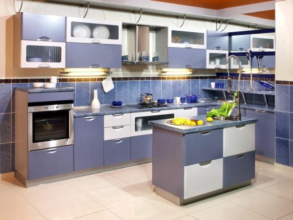 Выбор стиля и цвета кухонного гарнитура