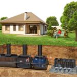 Монтаж канализации в загородном доме