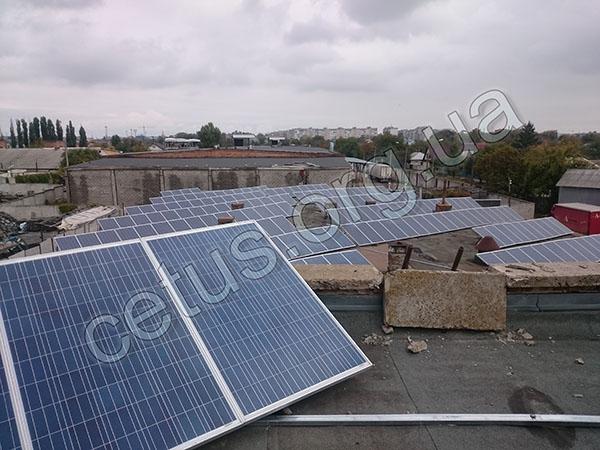 Строительство небольших солнечных электростанций