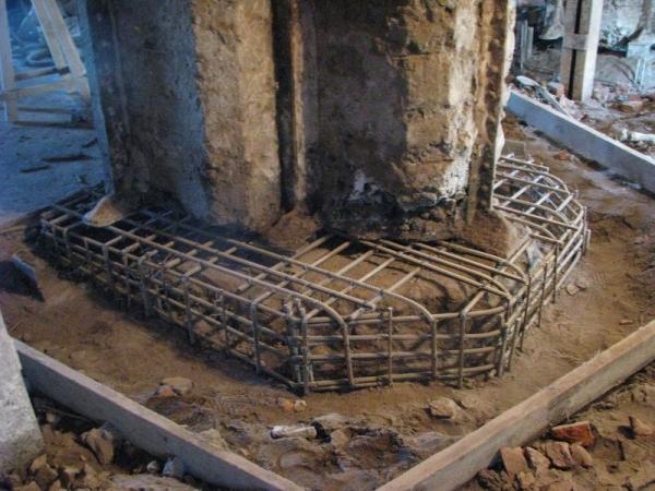 Методы усиления основания здания
