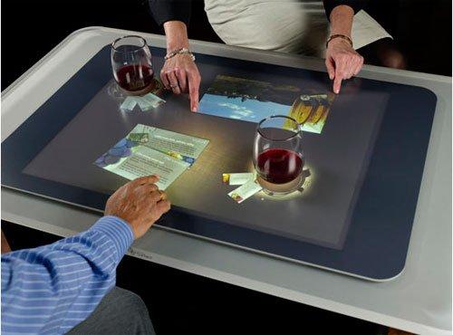 Сенсорные столы для кафе и ресторанов уже реальность