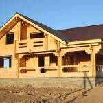 Древесина – традиционный материал для строительства бани