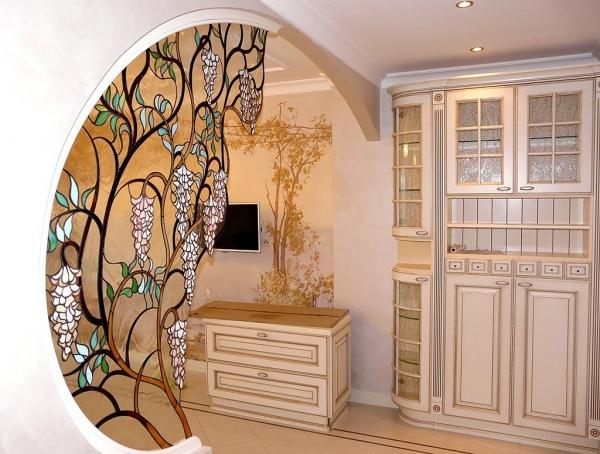Витраж ваш конек в дизайне помещения