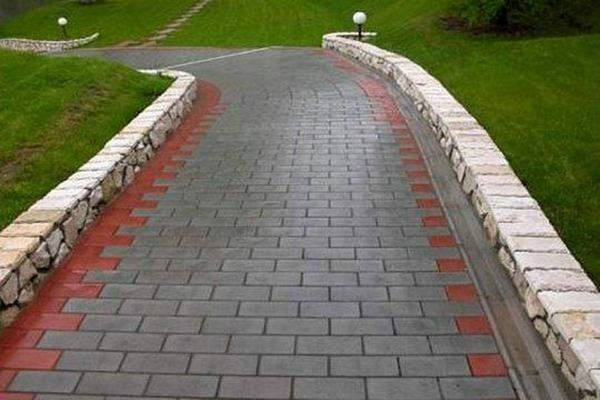 Тротуарная плитка – прекрасная альтернатива асфальту