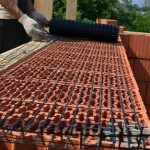 Использование базальтовой сетки при армировании кладки