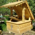 Конструкционные особенности домика для колодца