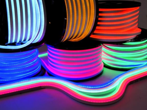 Гибкий неон на основе светодиодов