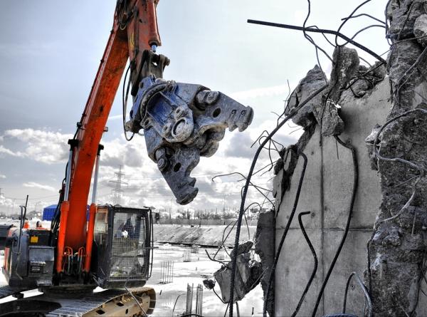 Технологии демонтажа различных зданий