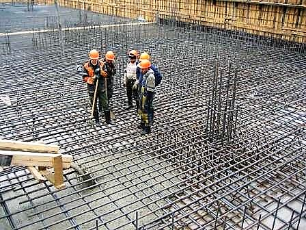 Что такое бетонные работы