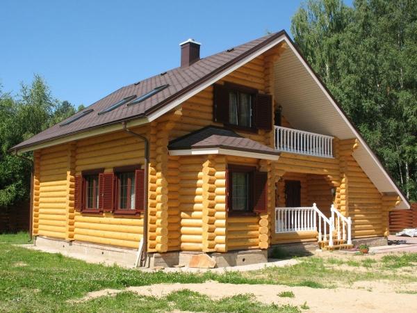 Какие бывают дома из дерева
