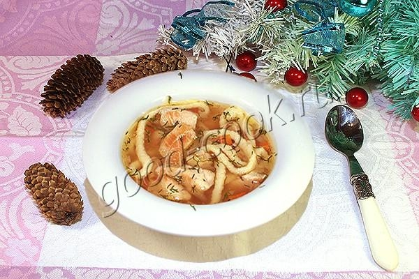куриный суп с домашней лапшой. Рецепт приготовления
