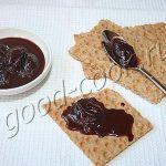 сливовое варенье с шоколадом, рецепт приготовления