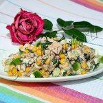 яичный салат с сайрой. Рецепт приготовления