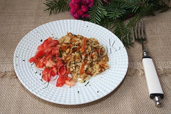 перловая каша с овощами. Рецепт приготовления
