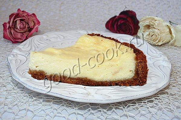 чизкейк из отвешенной сметаны. Рецепт приготовления