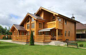 Особенности строительства дома из бруса