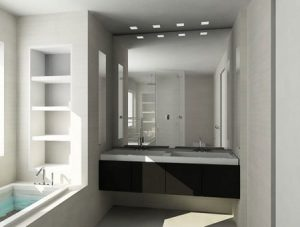Советы для визуального расширения пространства ванной комнаты