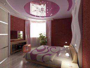 Интимный дизайн спальни