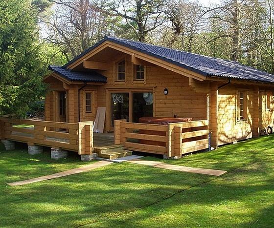 Дом деревянный из бруса