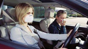 Убираем запахи в автомобиле