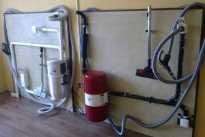 Система пылеудаления в помещении