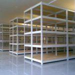 Мебель из металла: стеллажи металлические