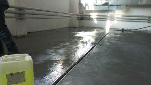 Где применяются составы для защиты бетона
