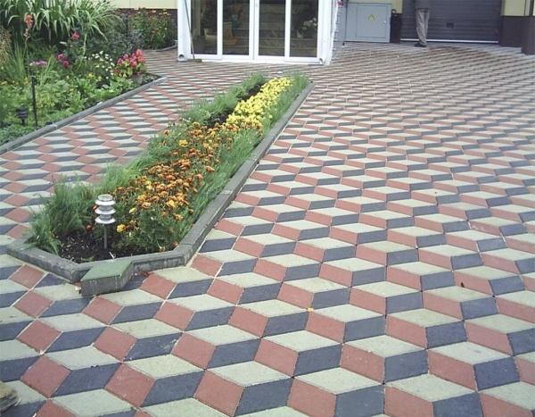 «Золотой Мандарин»: универсальная тротуарная плитка