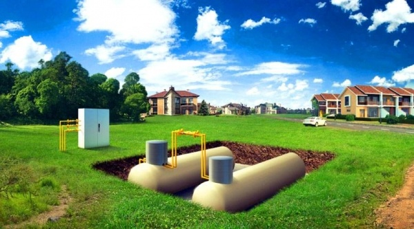 Газгольдер для загородного дома по цене производителя от компании BVK