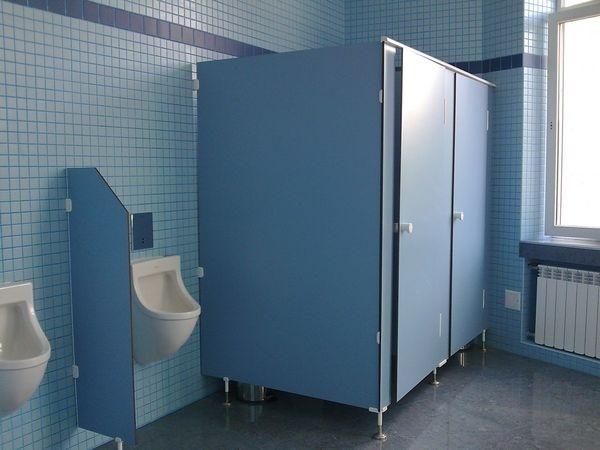 Применение туалетной перегородки