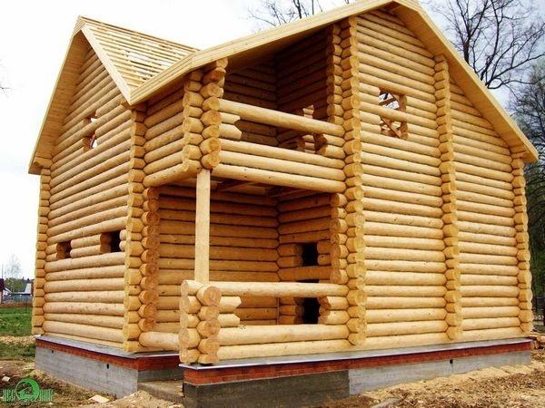 Преимущество деревянного дома