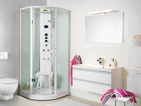 Преимущества душевых кабин перед ваннами